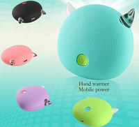 Small Monster Heater Aluminum Heatsink Mobile Power Bank Warm Hand Treasure USB Charging Warm Baby Mini Portable Heater