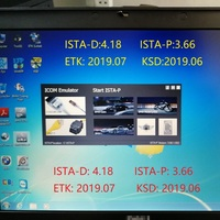 2019.07 ISTA/D 4.18 ISTA/P 3.66 For BMW ICOM Software HDD/SSD Multi language With Engineers Programming windows 7 free shipping