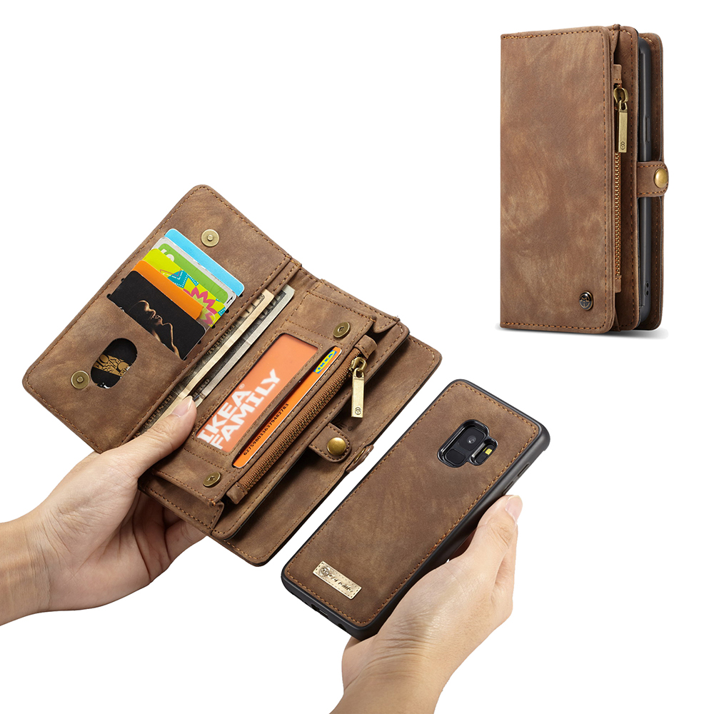 caseme luxury leather phone case for samsung galaxy s9. Black Bedroom Furniture Sets. Home Design Ideas