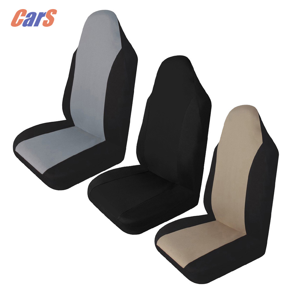 Universal Car Front Rear Seat Covers Cushion Pad for Crossovers SUV Sedan Cushion Pad Protective Covers Car Seats Car-styling