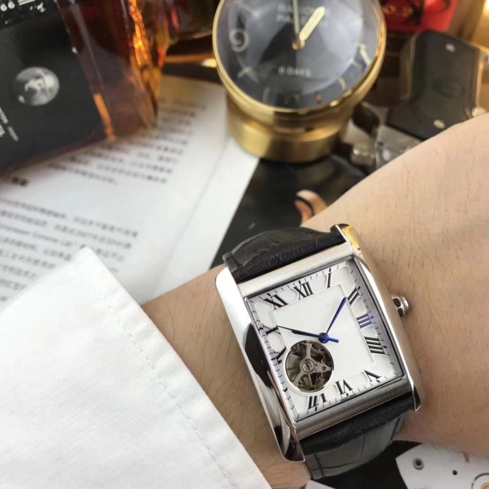 Mens Watches Top Brand Runway Luxury European Design Automatic Mechanical Watch S0726