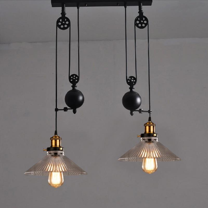 Compra barra de la cocina de iluminaci n online al por for Lamparas vintage baratas
