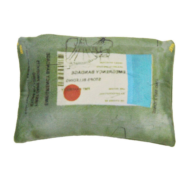 PUBG Playerunknowns Battlegrounds first aid kit painkiller bandage Air drop Storage box Plush Gift Plush pillow kids adults gift 2