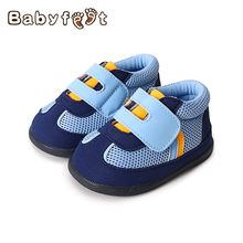 Babyfeet 2017 Fashion Baby Boys And Girls Premium First Walkers Non-slip rubber Sole Breathable Children Shoes
