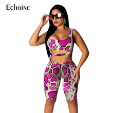 2019 New sexy women Leopard Snake Print playsuits short hollow out strapless female skinny party rompers bodysuits plus size