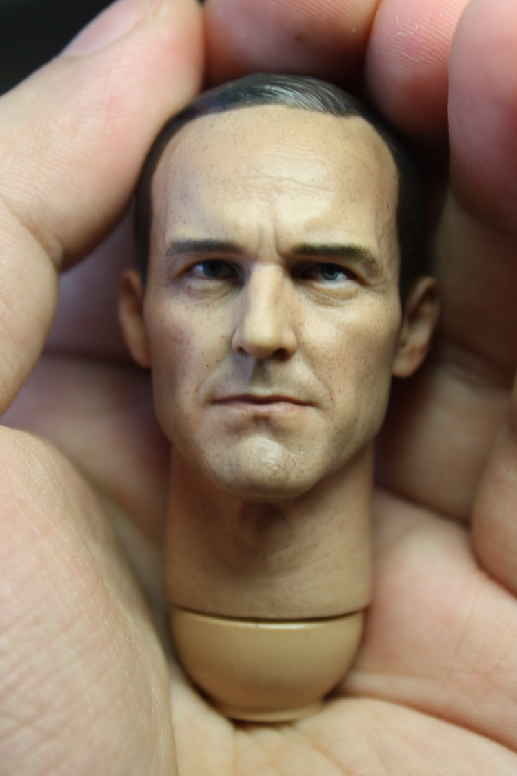 1/6 scale figure doll head shape for 12 action figure doll accessories The Avengers Phil Coulson Clark Gregg Head carved phil collins singles 4 lp