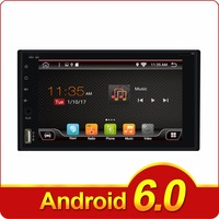 2G 16G Android 6 0 Quad 4 Core 2DIN Universal Car Audio Stereo GPS Navigation 2