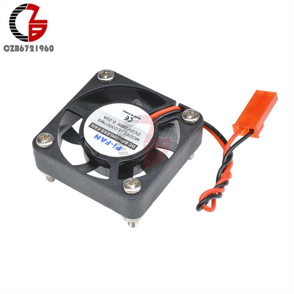 5V 0.2A DC Brushless Fan Cooling Cooler Fan heat Dissipation Radiator Fan for Raspberry Pi 2 Model B+ with Screws Parts