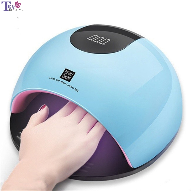 80W UV LED Nail Dryer SUN Light Nail Dryer Quick Dry Light Speed Manicure Light Induction Nail Light Dryer Professional Lamp