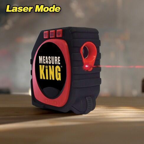Newest Measuring Tape Black 3 in 1 measuring tape measure king Laser Digital Tape Measure for Drop Shipping лазерный дальномер mini desktop laser tracing measuring tape