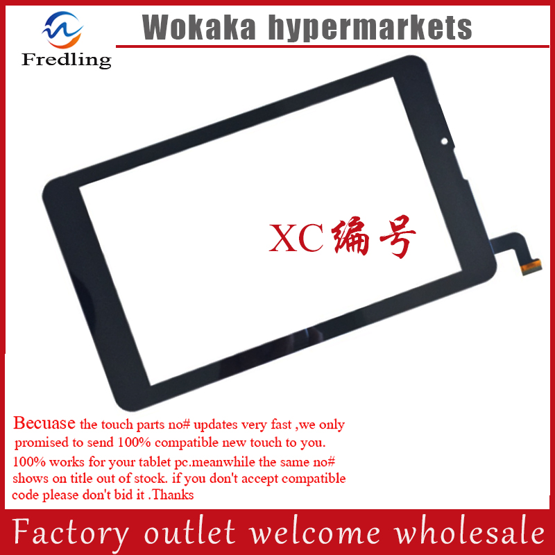 New 7'' inch touch screen For 4good light at200 tablet computer multi touch capacitive panel handwriting screen Free shipping