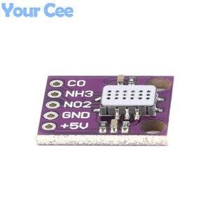 Image 4 - MICS 6814 אוויר באיכות שיתוף NO2 NH3 חנקן פחמן גז חיישן מודול לarduino