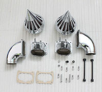 Motorcycle Chrome Spike Air Cleaner Kits Intake Filter For Suzuki Boulevard M109 Moto