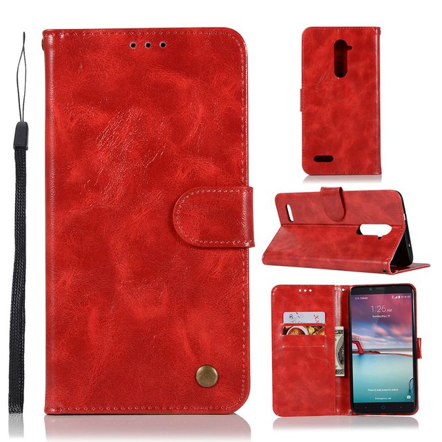 ZTE ZMax Pro Z981 Case Business Style Stand Flip Leather Wallet Phone Coque Cover for ZTE Z981 Case for ZTE Z Max Pro Capa Cover