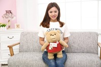 Cartoon Movie 40cm Teddy Bear TED Plush Toys Soft Stuffed Animal Dolls Classic Toy kawaii plush kid toy gift