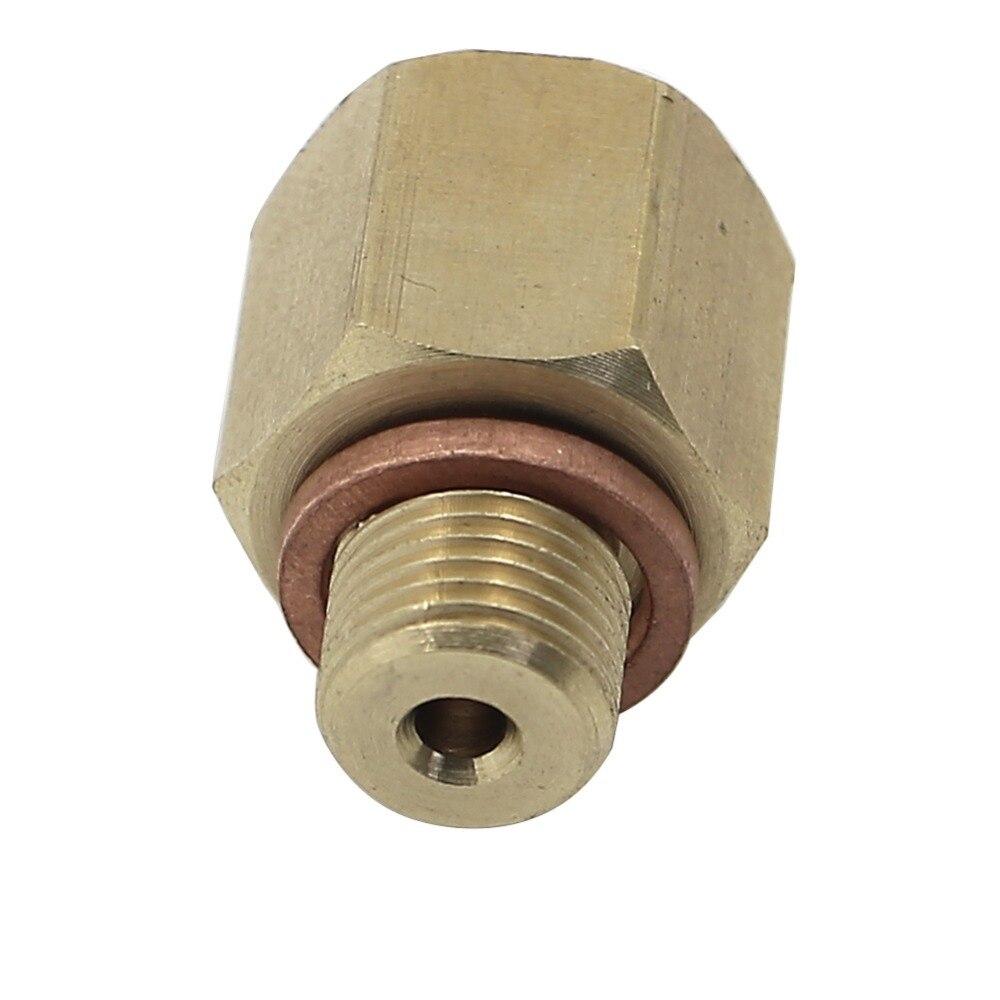 Fitting Metric M12 X 1.0 M12X1 Female to M10 X 1.0 M10X1 Male Gauge Meter Adapter