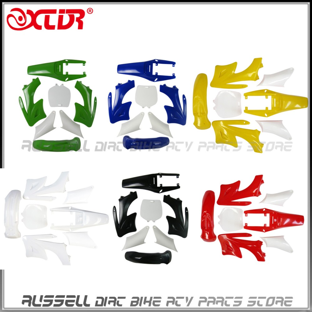 Small Apollo Mini Moto Kids Dirt Bike Plastic Fenders Fairing Set Spacer Gear Duralium Klx Dtracker Az278 3
