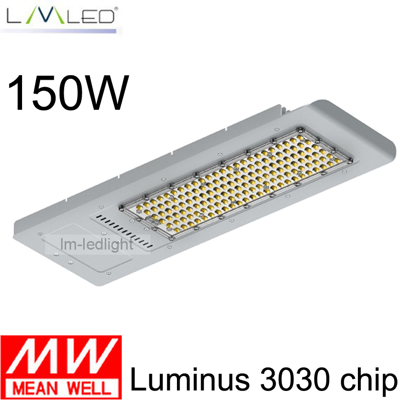 5 years warranty CE ROHS High quality150W LED Street Light IP65 Waterproof meanwell Driver