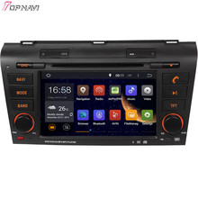 "7"" Free Shipping Quad Core Android 5.1 Car GPS For MAZDA 3 2004 2005 2006 2007 2008 2009 With Audio Radio Stereo Multimedia"