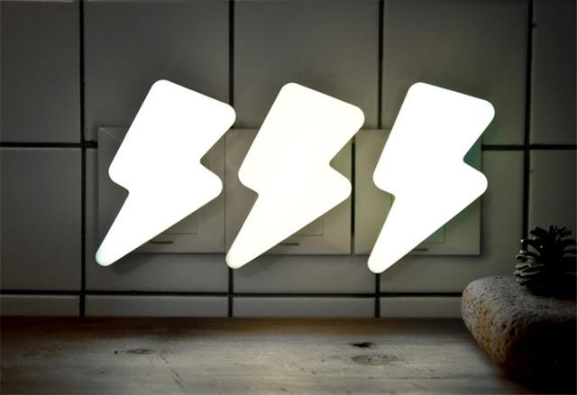 Творческий Освещение Форма ночник AC110-220V розетка свет автоматическое управление Сенсор лампа для сна ing огни
