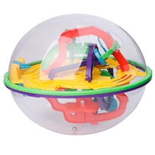 168 Barriers 3D Magic Intellect Ball Balance Maze Game Puzzle Kids Toy Gift Children Educational Toys