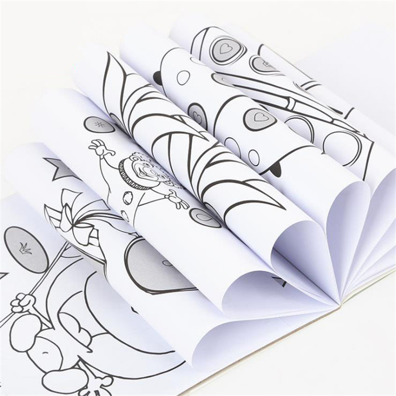 Online Shop Children Picture Book Baby Color Album Toys Kindergarten Graffiti Coloring Strokes Kids Learning Painting Gift