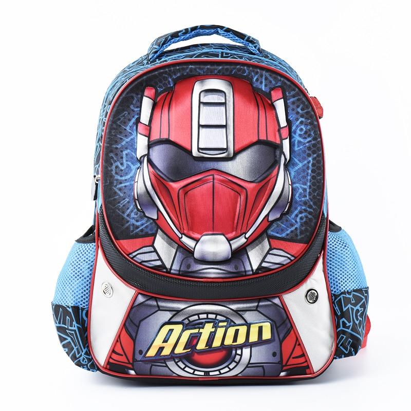 KOKOCAT Kids Schoolbags Child School Backpack EVA Children Cartoon Bags Grade 1-6 child l night school