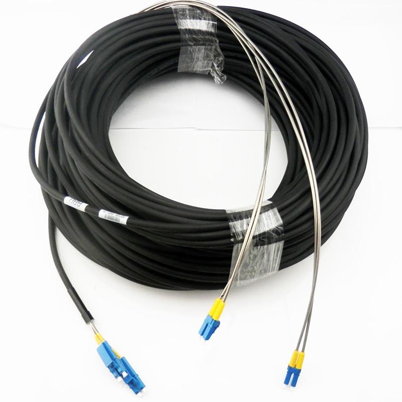 100M LC UPC 4 core base station optical fiber cable 4Core Field Fiber cable FTTA fiber to Tara far Fiber optic patch cord cable