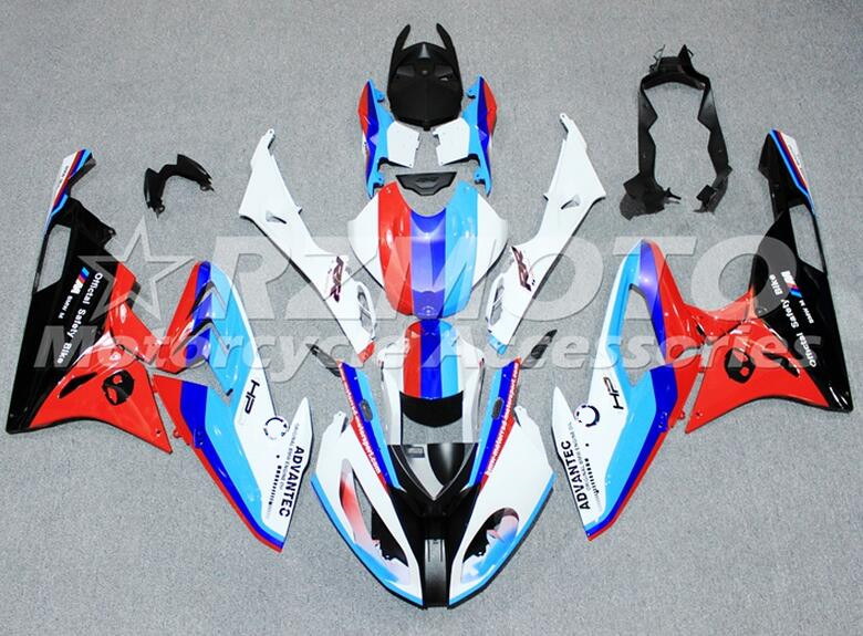 New ABS motorcycle Fairings Kit Fit For BMW S1000RR 2015 2016 S1000 2015 2016 Injection Mold Bodywork set Custom Red blue image