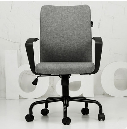 Modern Simple Fashion High Quality Household Office Computer Chair Ergonomic Swivel Lifting Staff Meeting Boss Chair 240340 high quality back pillow office chair 3d handrail function computer household ergonomic chair 360 degree rotating seat