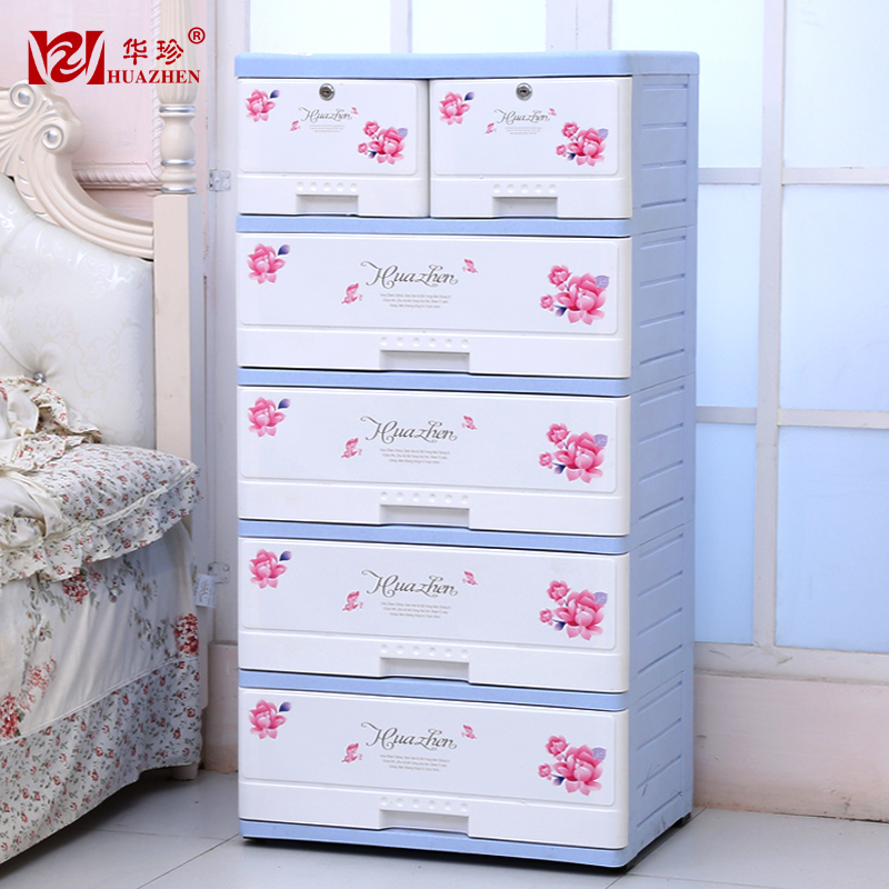 large thick plastic drawer storage cabinets lockers finishing cabinet ikea 5 layers baby baby. Black Bedroom Furniture Sets. Home Design Ideas