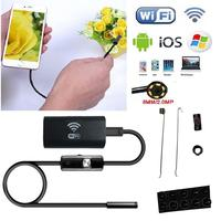 Gizcam IOS Android Wifi Endoscope 8mm Lens 6 LED Wireless Waterproof Android Endoscope Inspection Borescope Camera