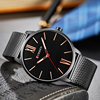 Curren Mens Watches Top Brand Luxury Gold Quartz Men Watch Drop Shipping Mesh Strap Casual Sport Male Relogio Masculino 8238 4