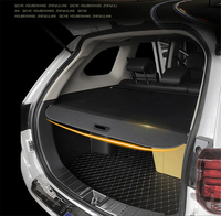 For Mitsubishi Pajero Sport 2016 2019 Rear Cargo Cover privacy Trunk Screen Security Shield shade Auto Accessories