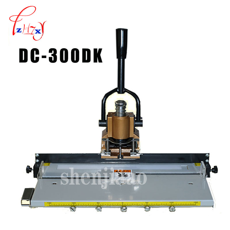 Single punch archive punching machine heavy Manual punching machine the thickness of 30mm DC 300DK 1PC