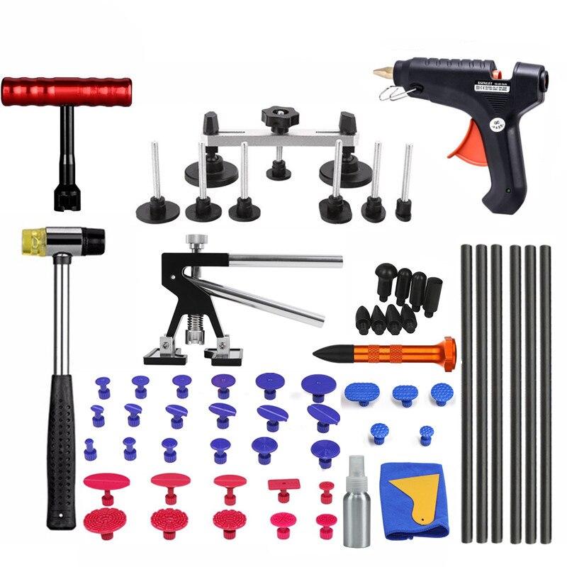 Werkzeuge Fahrzeug Dent Reparatur Auto Körper Dellen Auto Dent Reparatur Werkzeuge Puller Saug Tassen Kleber Gun reverse hammer hand werkzeug