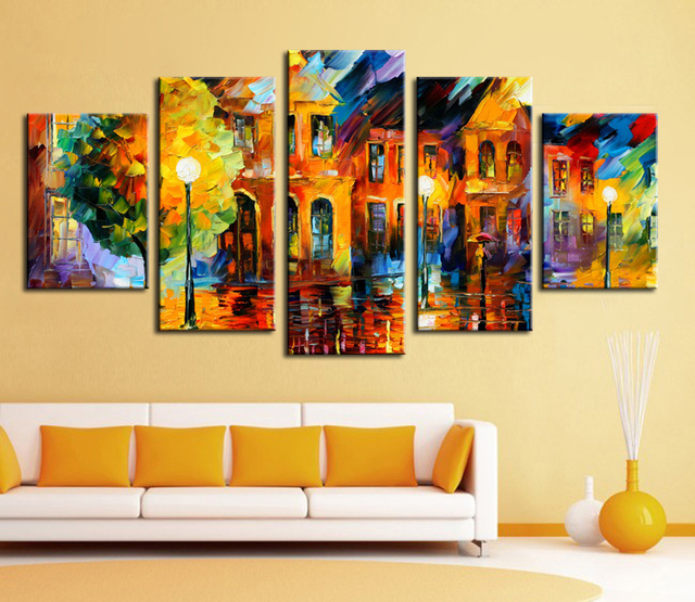 Buy wall art hot sell 5 piece wall art for Sell abstract art online