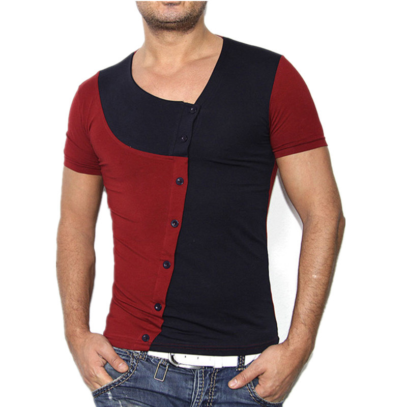 2015 la venta del nuevo verano hombre de moda del estilo for Camisetas de interior hombre