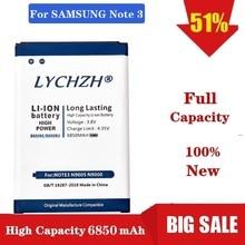 2019 New 6850mAh B800BC B800BE/BU Battery for Samsung Galaxy Note 3 N9000 N9005 N900A N900 N9002 N9008 N9009 N9006 N9008S стоимость