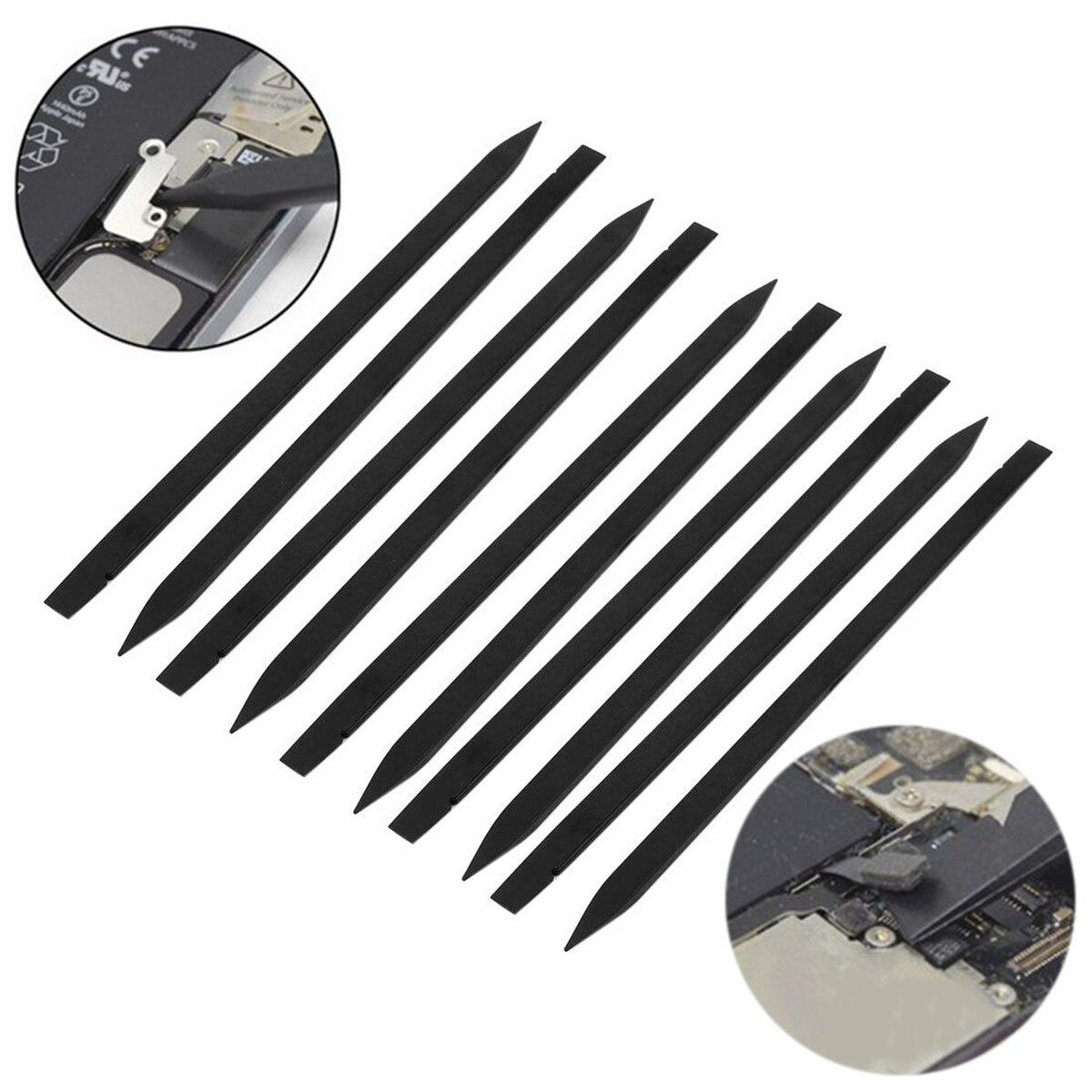DWZ 10pcs Anti Static Plastic Spudger Stick Pry Opening Tool for Smartphone Repair