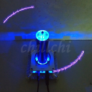 Image 4 - Music Tesla coil ion windmill ion wreath input anti interference protection DIY experiment