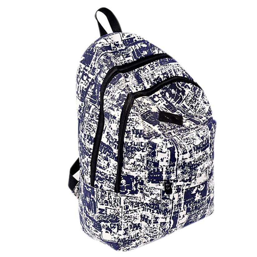 Backpack Vintage Canvas Backpack Satchel Rucksack Travel School Bag Rucksack Mochila Feminina #25