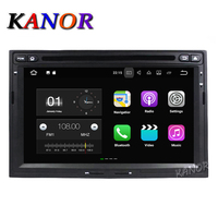 Kanor 1024X600 Android 4 4 Car DVD Stereo For Peugeot 3008 5008 Partner Berlingo Auto Radio