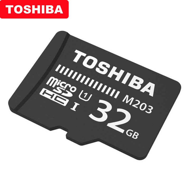 Image 4 - TOSHIBA Micro SD Card M203 Class 10 16GB 32GB 64GB 128GB Memory Card C10 Mini SD Card SDHC SDXC UHS I TF Card For Smartphone/TV-in Micro SD Cards from Computer & Office