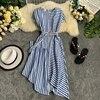 Striped Women Dress 1