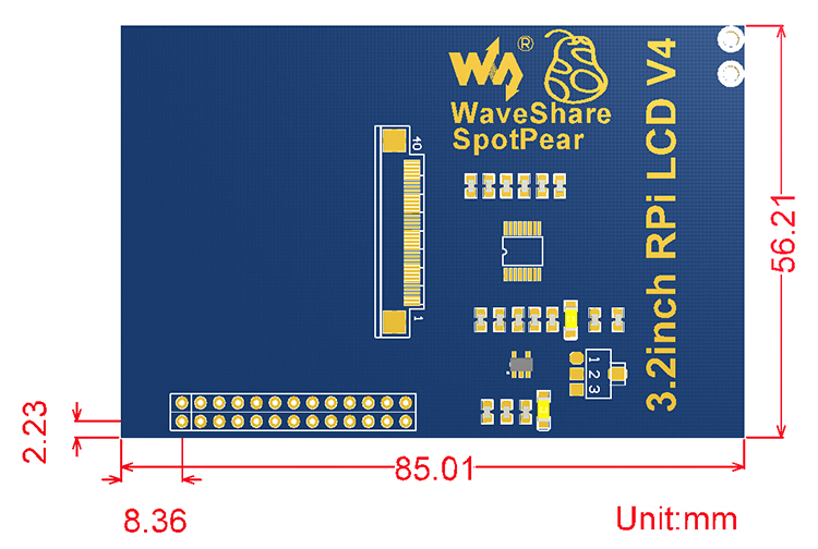 3.2inch-RPi-LCD-B-dimension
