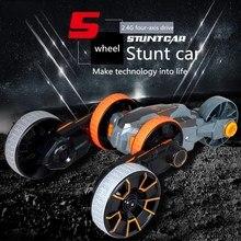 Yd-y6 новый пульт дистанционного управления автомобилем пять-колеса трюк прокрутки восхождение поворота месте автомобиля зарядки освещение игрушки