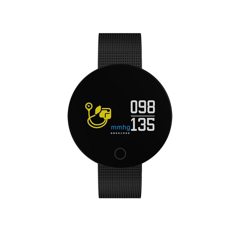 купить 2018 Soprt Smart Watch Women Bluetooth Heart Rate Fitness Tracker Smart Watch Men Smart Wristbands For Android IOS Clock по цене 2207.2 рублей