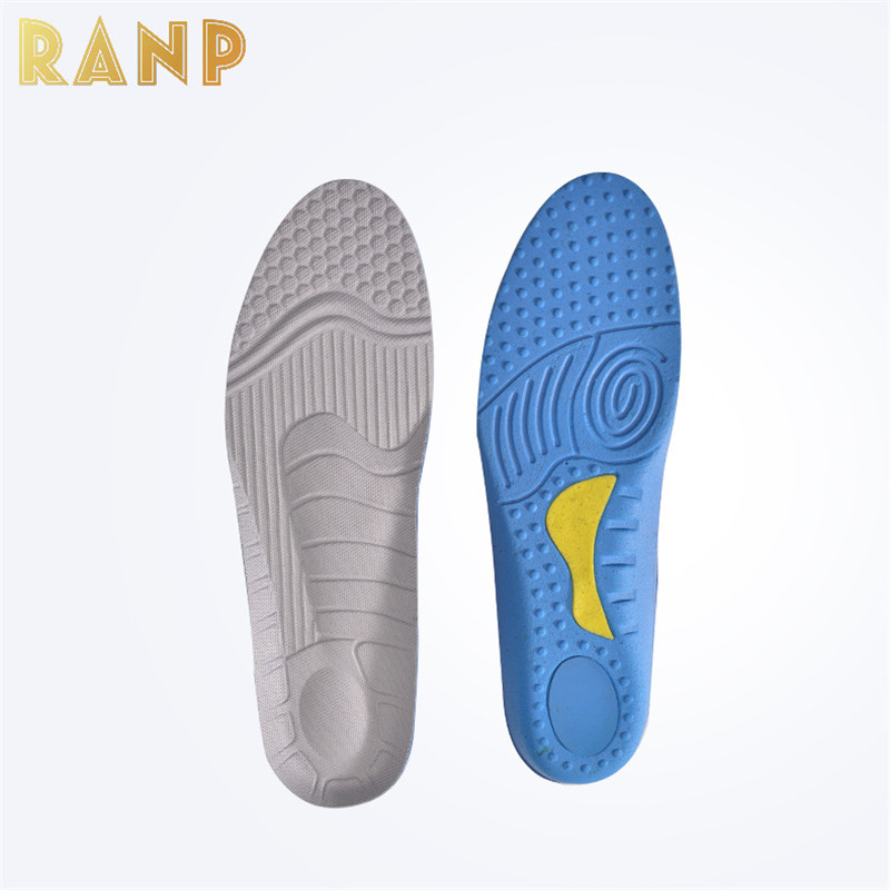 Hot Sale Sport Running Massage Orthopedic Foot Care Insole Orthotic Arch Support Flat Foot Insert Warm Shock Absorber Sole Pads