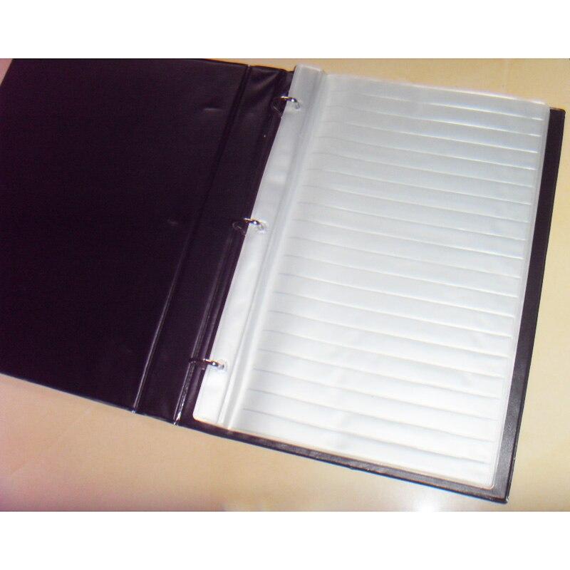 A4 Größe Widerstand Kondensator Inductor Leere SMD Komponenten Leere Probe Buch Für 0402/0603/0805/1206 Elektronische komponente